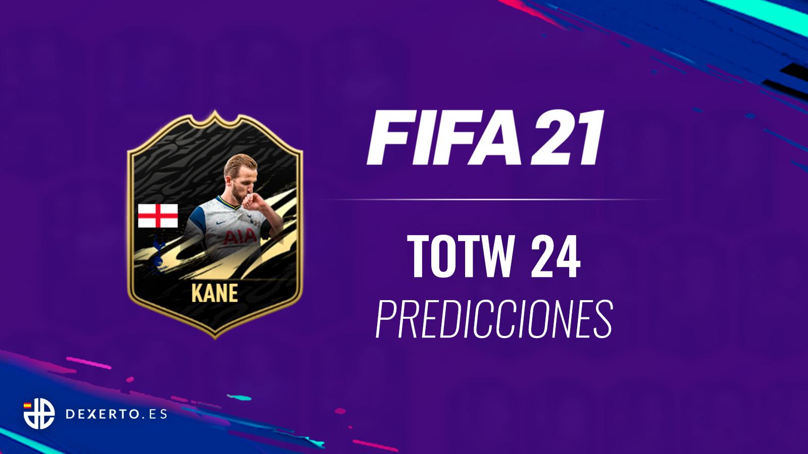 KANE predicciones FIFA 21 TOTW 24
