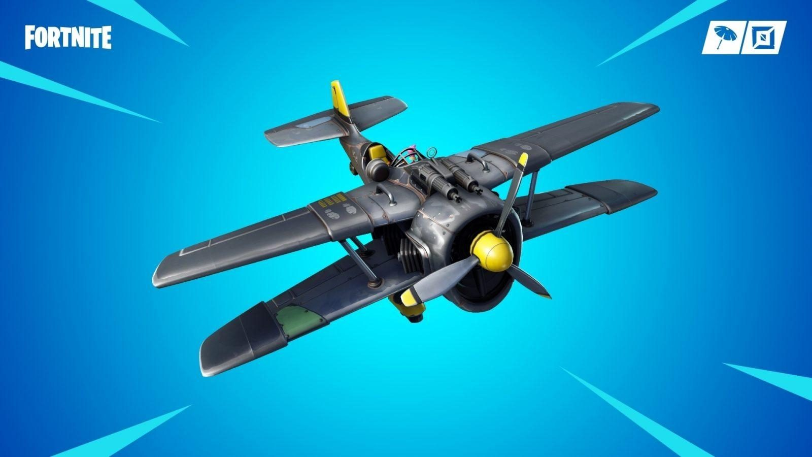 avión fortnite