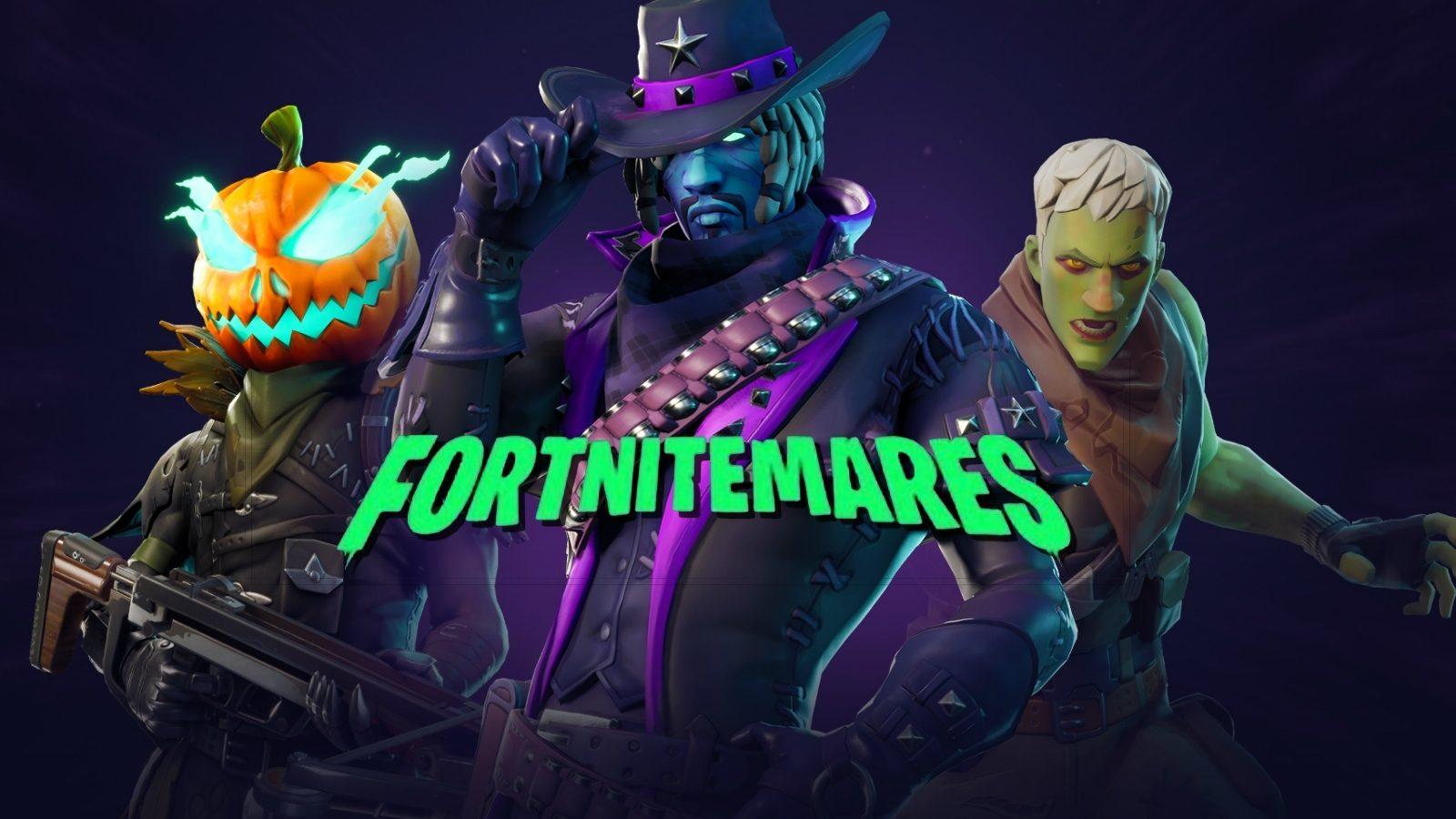 Skins de halloween evento fortnitemares de Fortnite