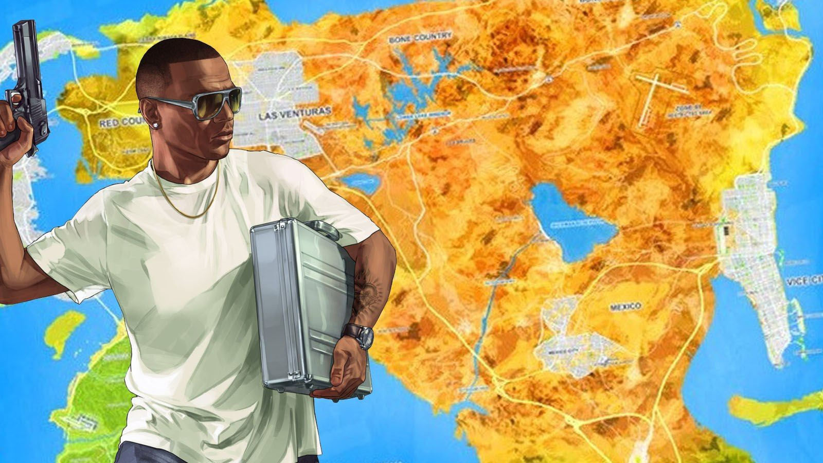 Mapa GTA