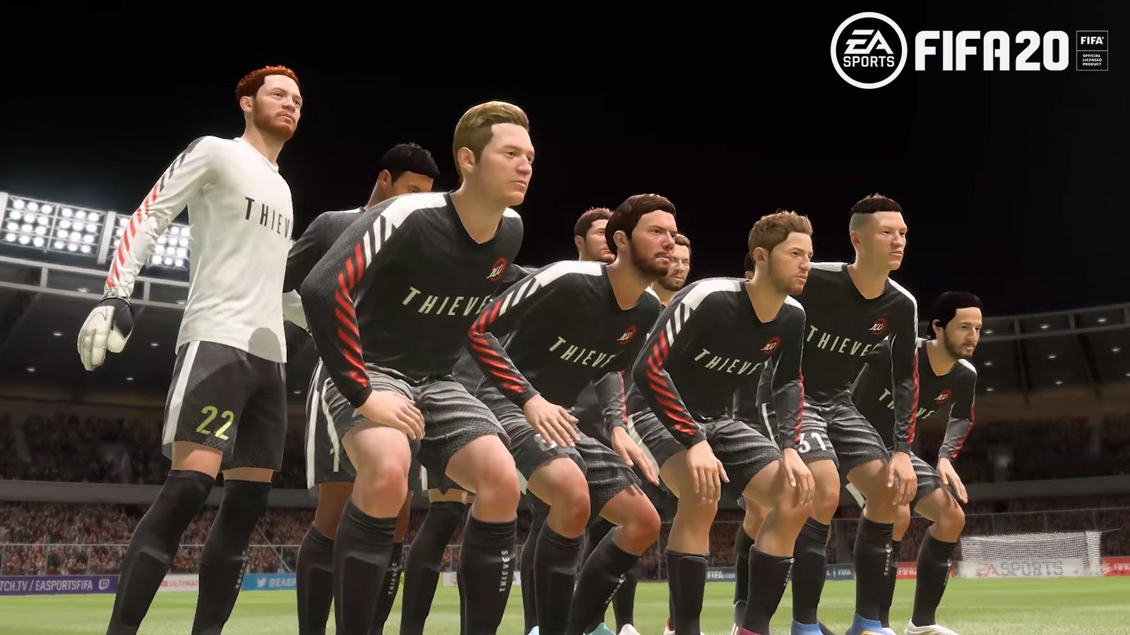 EA SPORTS / 100 THIEVES