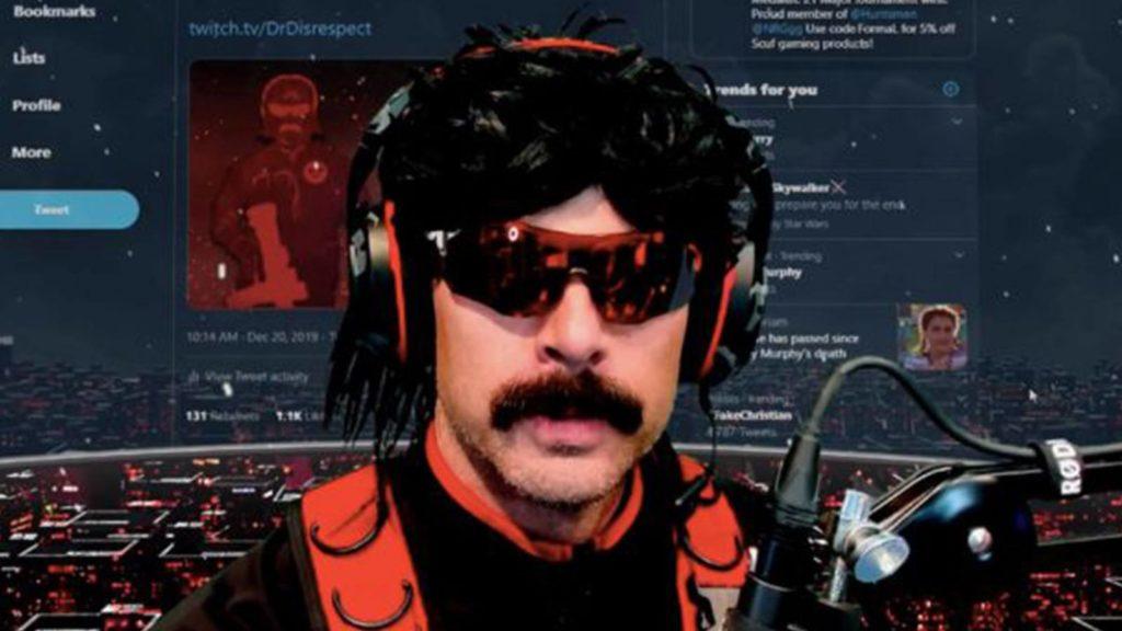 Twitch : DrDisrespect