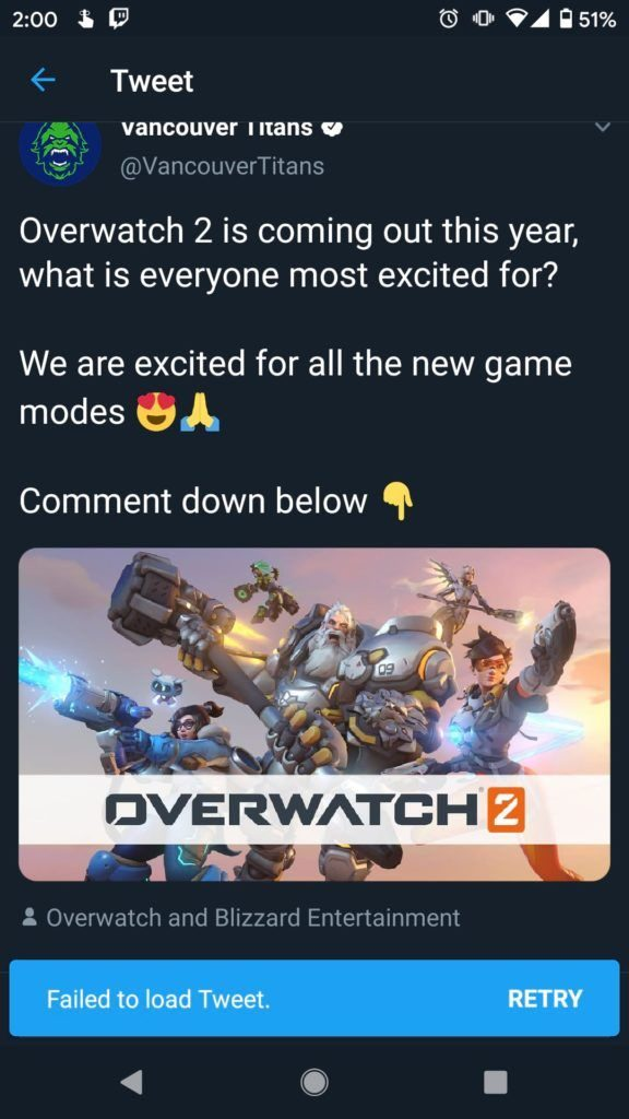 tweet vancouver titans sortie overwatch 2
