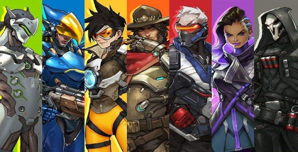 Les différents personnages de la catégorie Dégâts