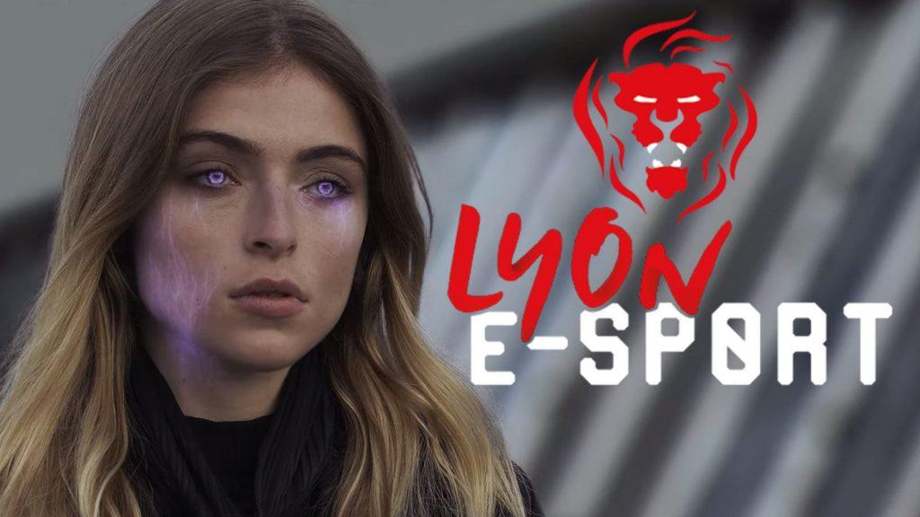 Extrait du trailer de la LES 2020 et logo de la Lyon e-Sport