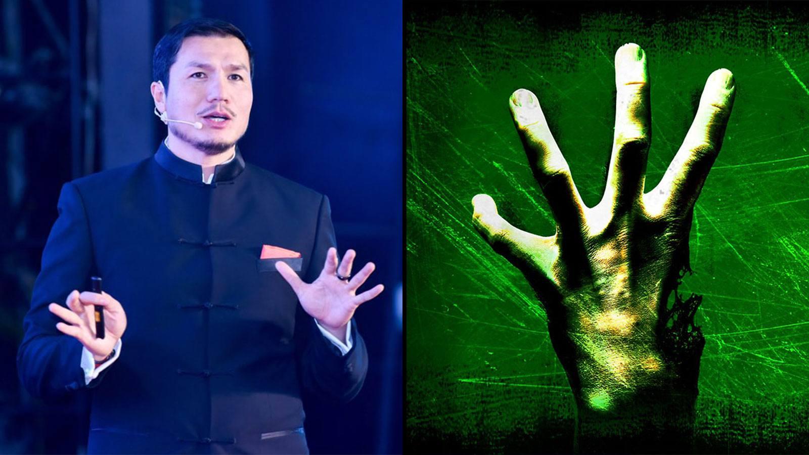 Le Président de HTC en Chine Alvin Wang Graylin en présentation pour l'année 2020 de la Réalité Virtuelle