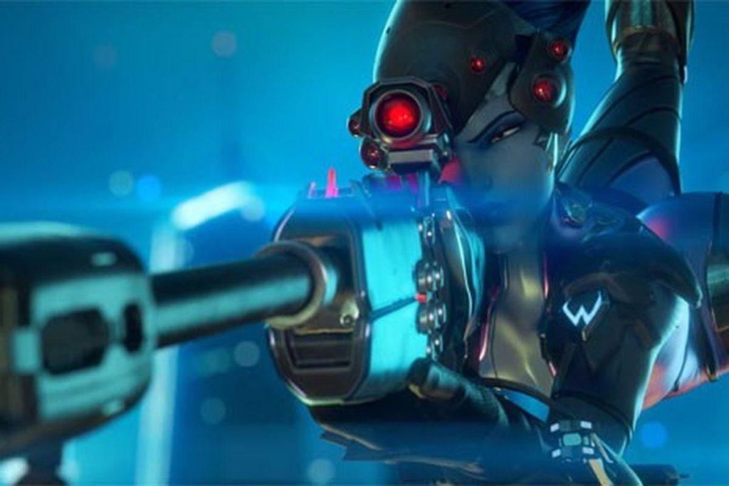 jeune joueuse overwatch headshot incroyable avec Fatale