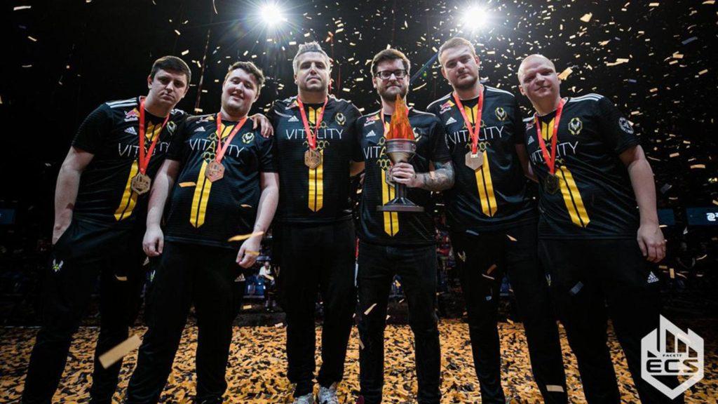 Victoire Team Vitality ECS CS:GO
