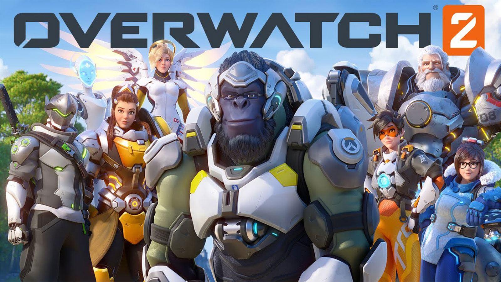 Présentaiton des héros d'Overwatch 2