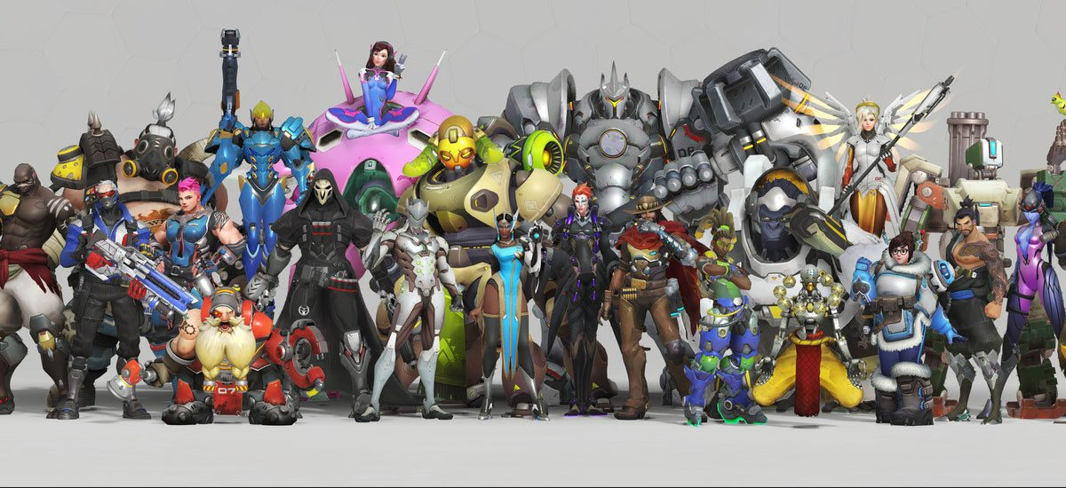 Tous les héros d'Overwatch