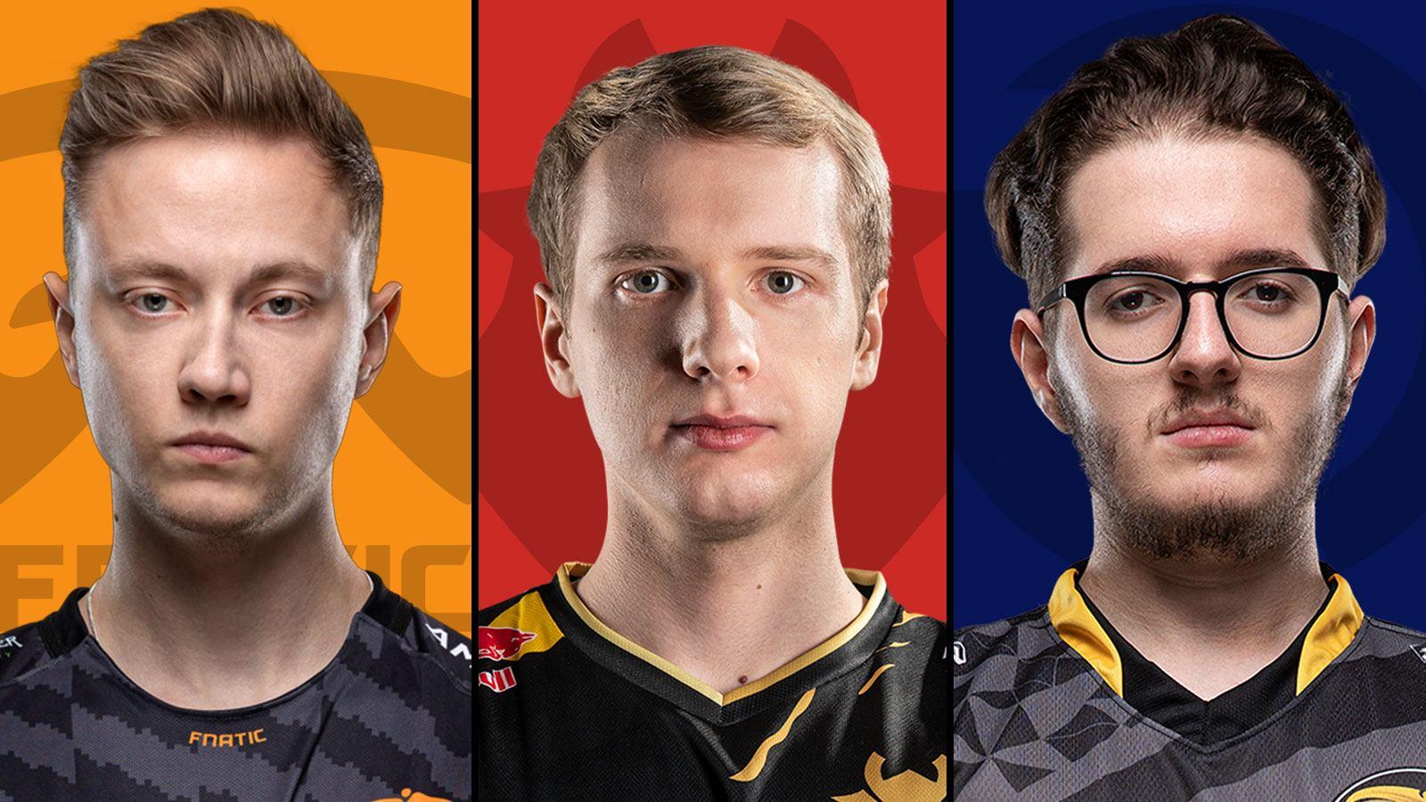 FNC Rekkles, G2 Jankos et OG Xerxe sont 3 des meilleurs joueurs européens de LoL