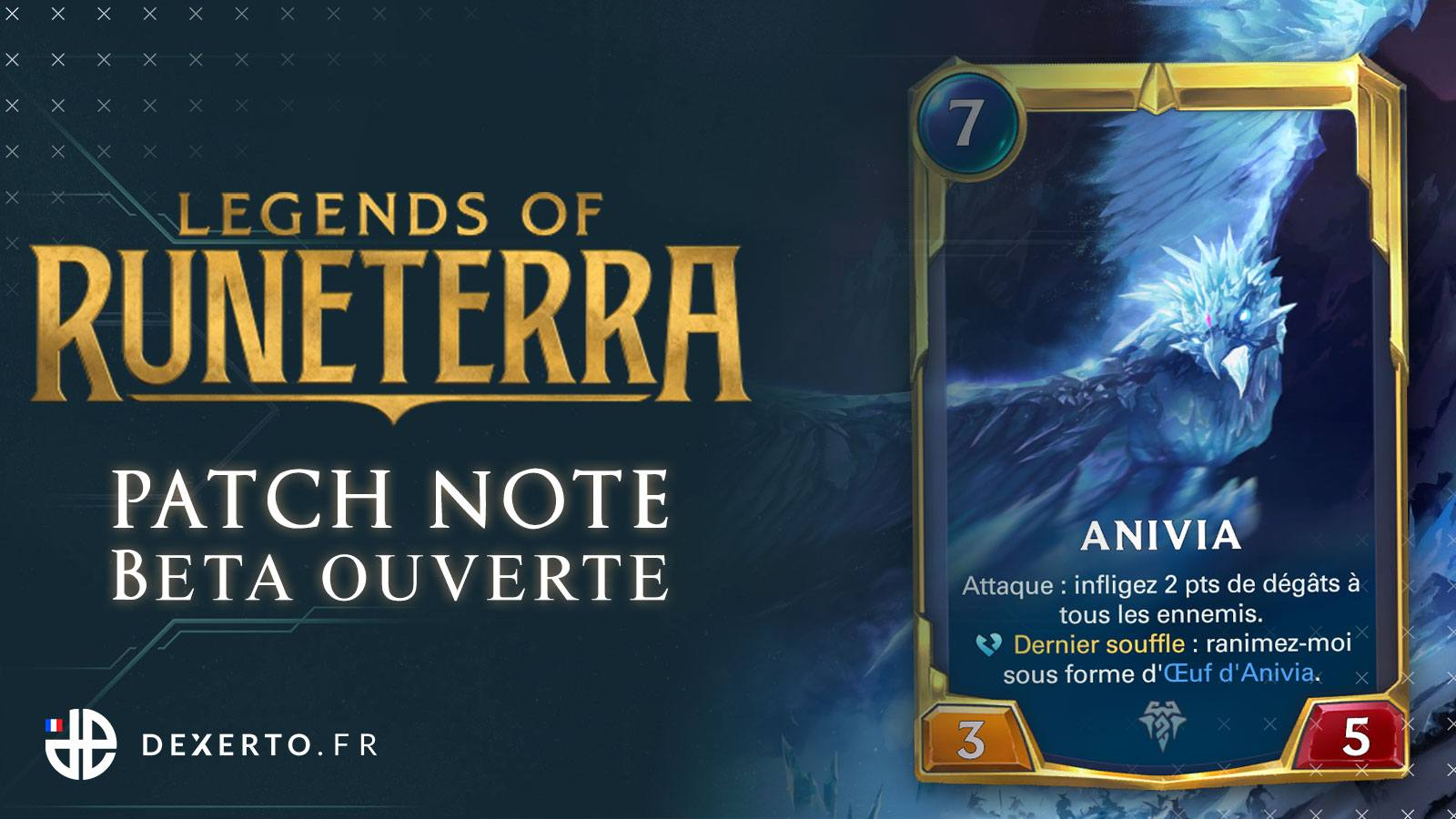 Patch note de Legends of Runeterra