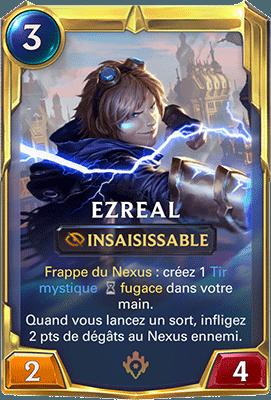 Le champion Ezreal dans LoR