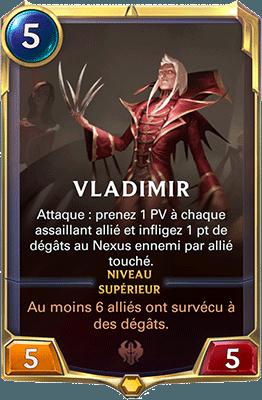 Les champion Vladimir dans LoR