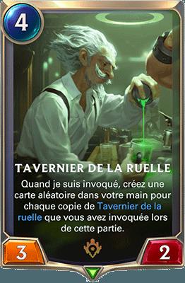 La carte Tavernier de la ruelle dans LoR
