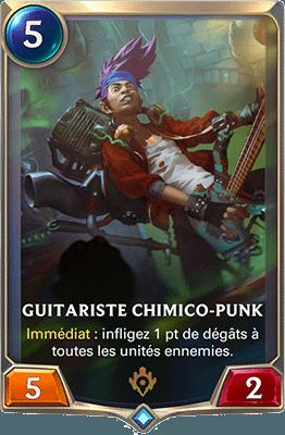 La carte Guitariste chimico-punk dans LoR