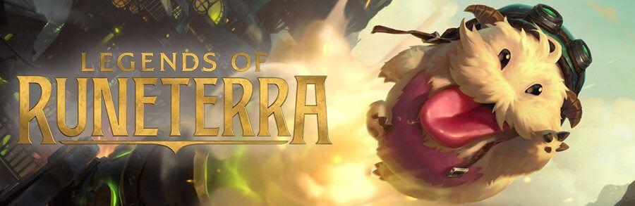 banderole promotionnelle Legends of Runeterra