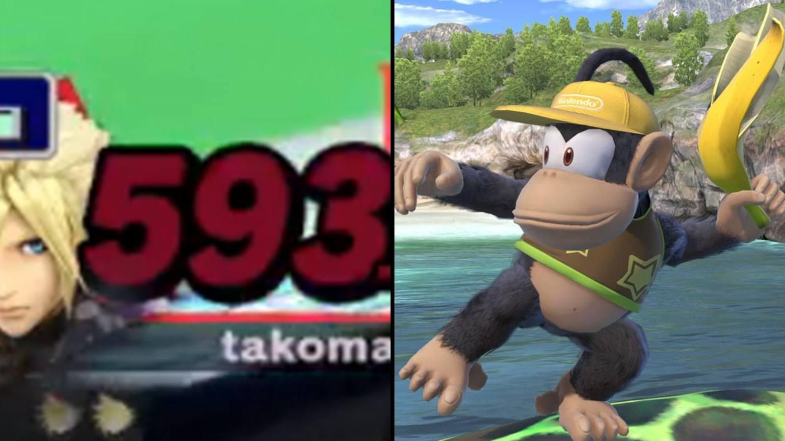 Diddy Kong Rikuya EVO 2020 smash ultimate