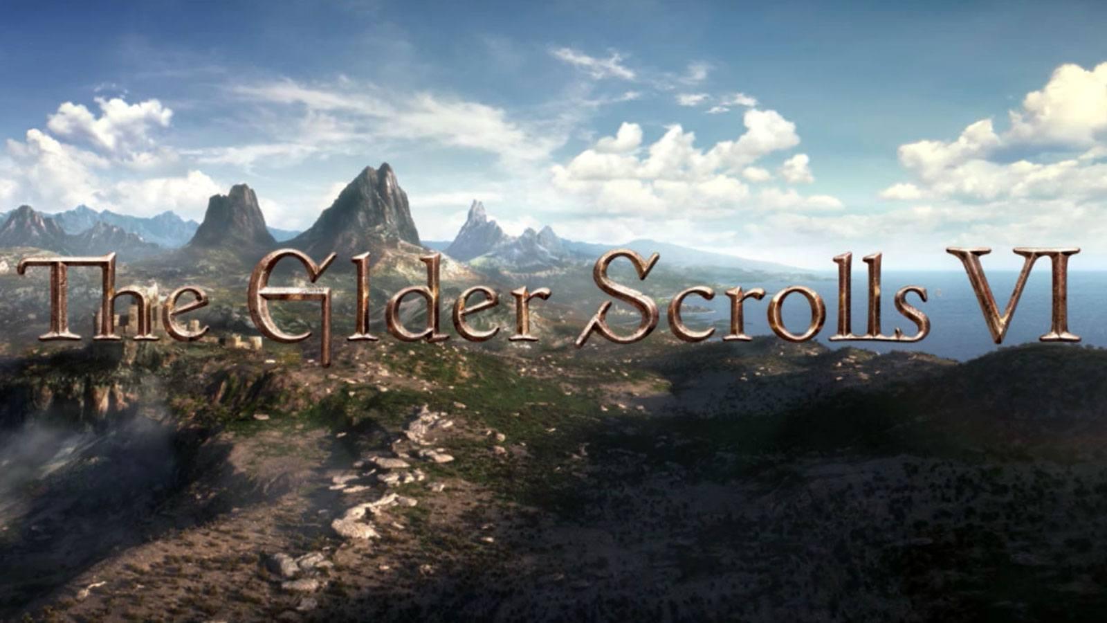 Capture d'écran du teaser de The Elder Scrolls 6