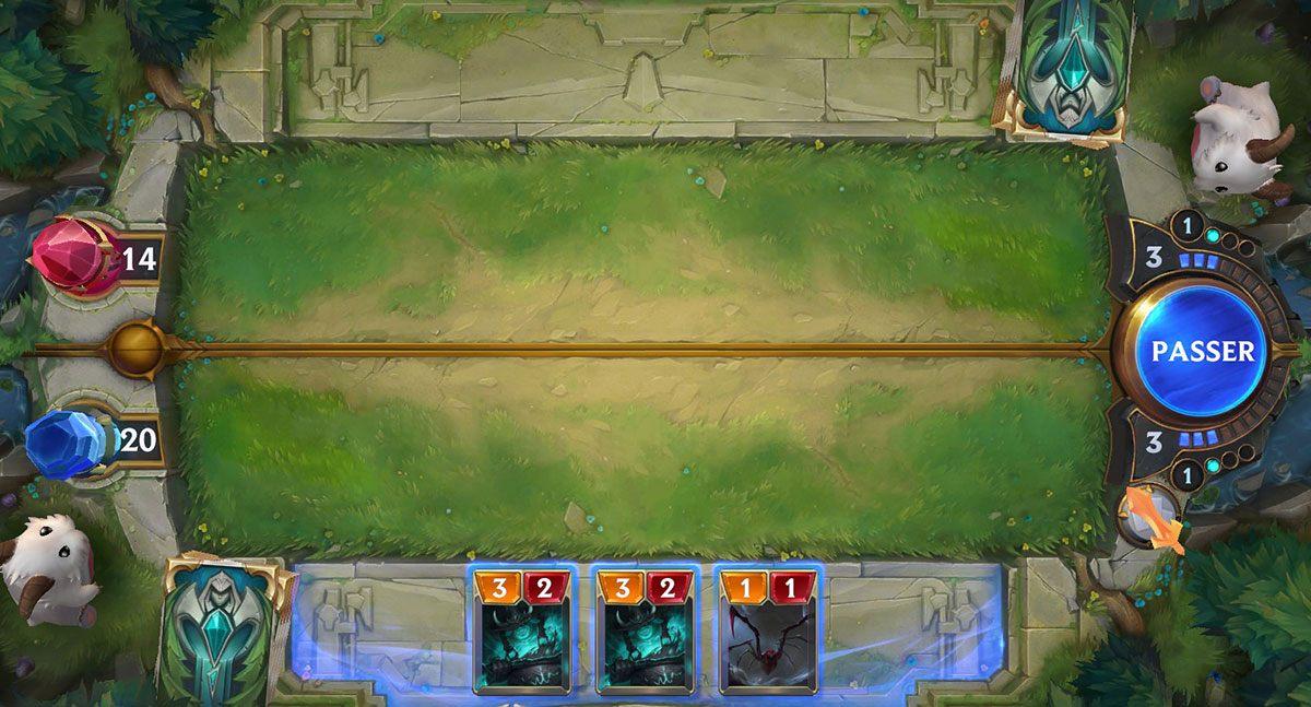 Plateau de jeu de Legends of Runeterra