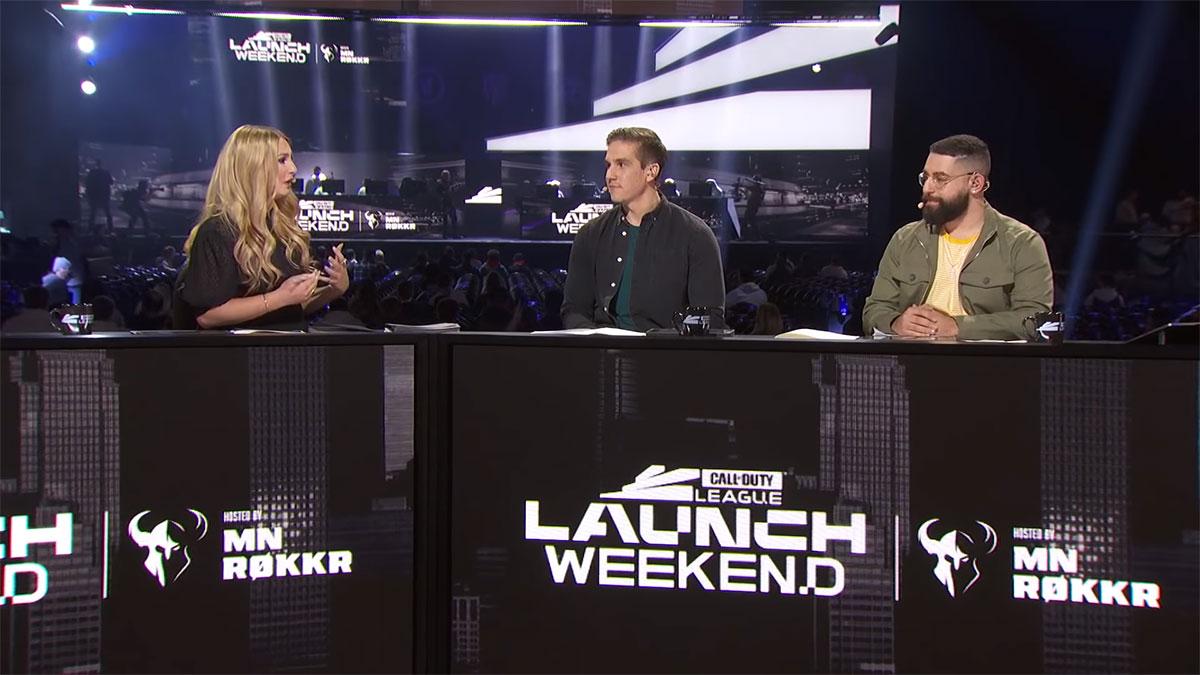 Capture d'écran de la Call of Duty League