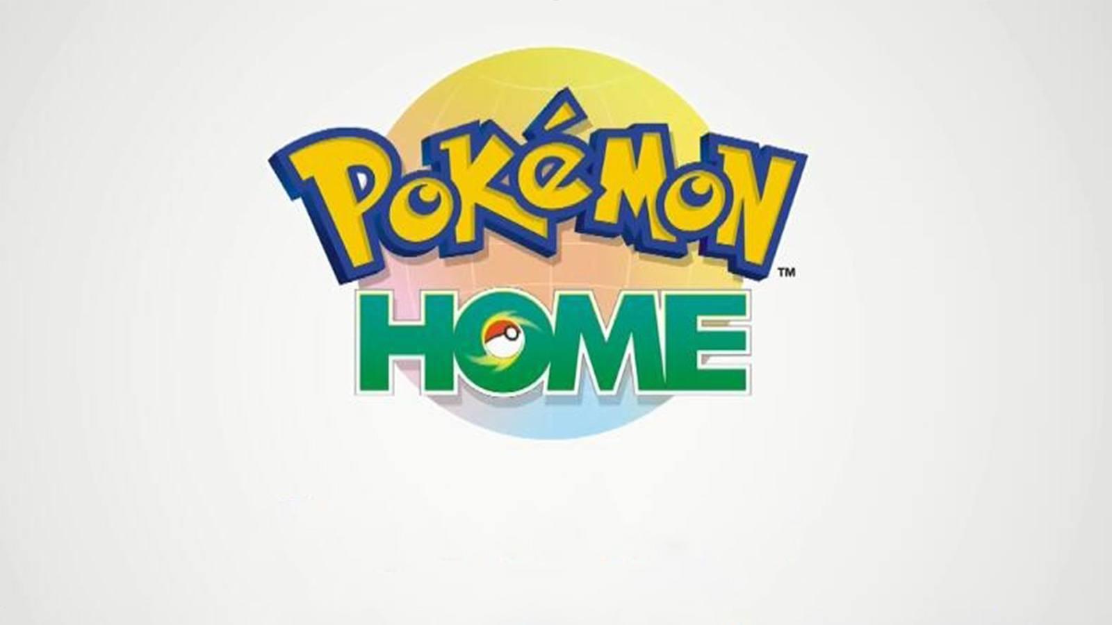 Affiche officielle du service Pokémon Home
