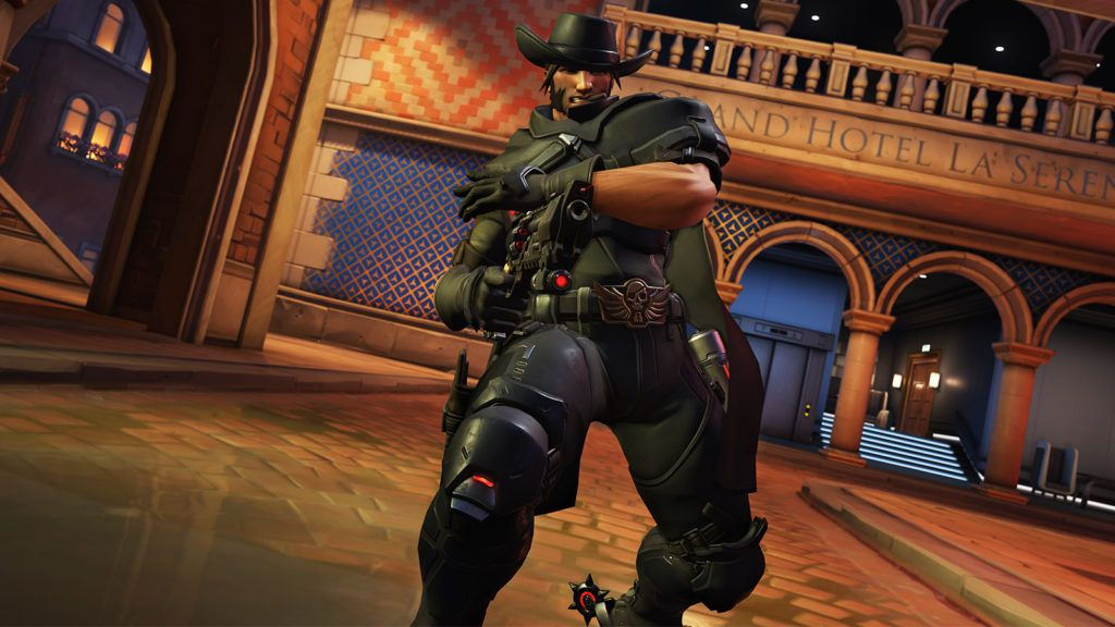 Buff overwatch McCree Implacable