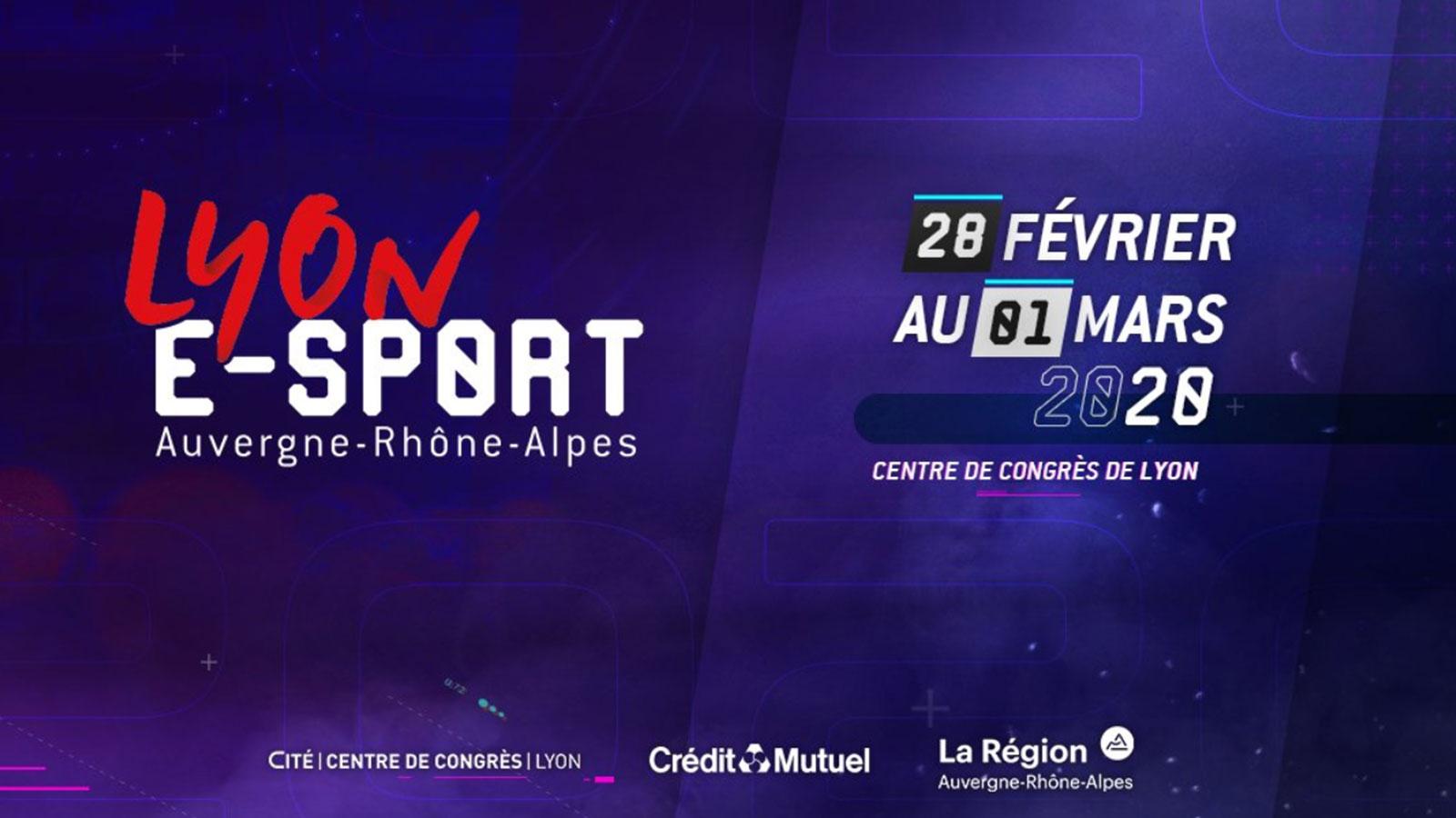 Les MANE seront à la Lyon e-sport