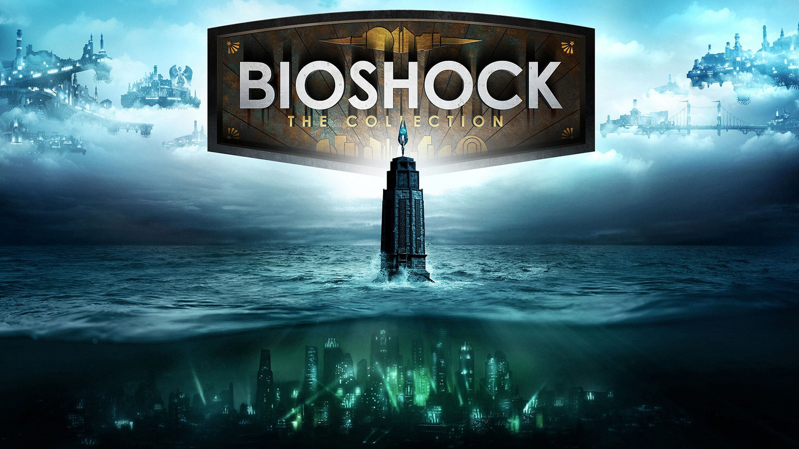 Affiche officielle de Bioshock : The Collection