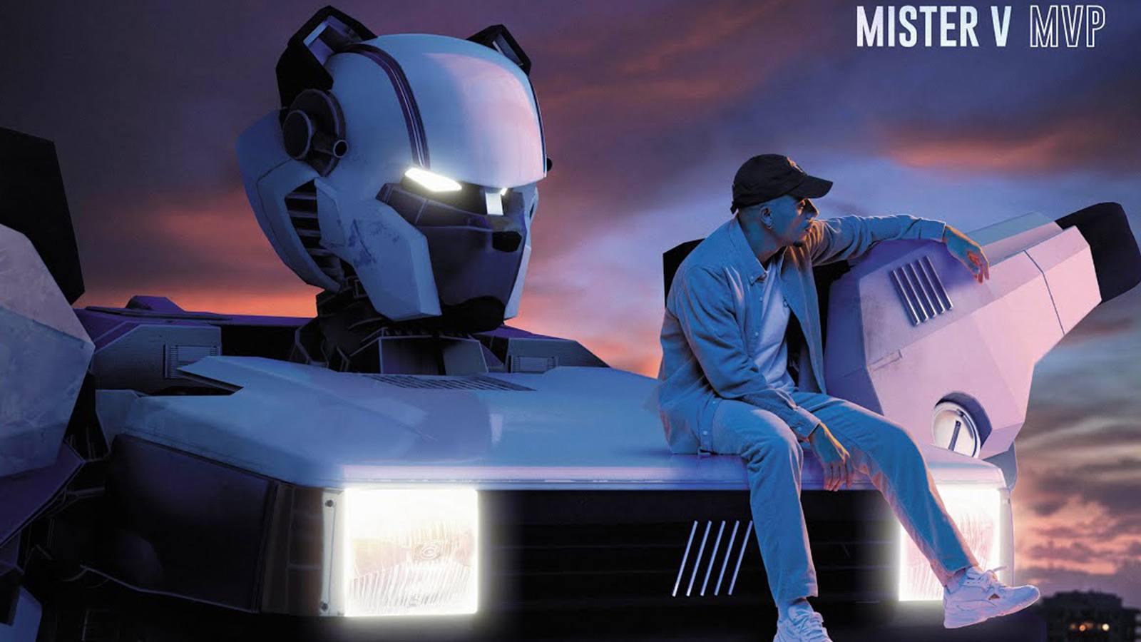 Cover officielle de l'album MVP de Mister V