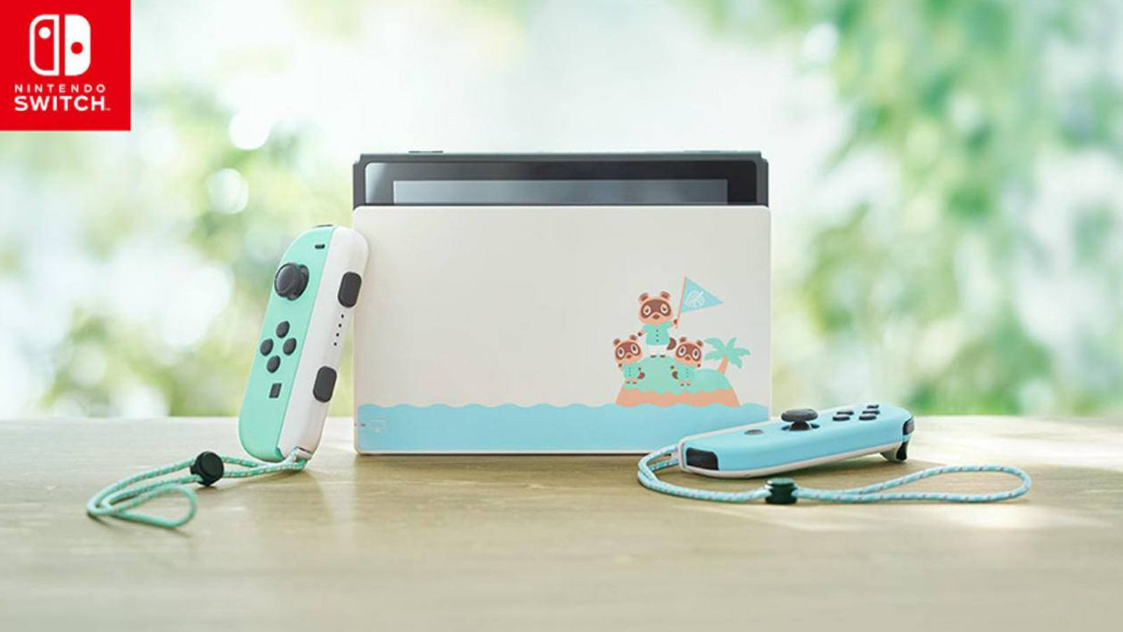La Nintendo Switch édition Animal Crossing