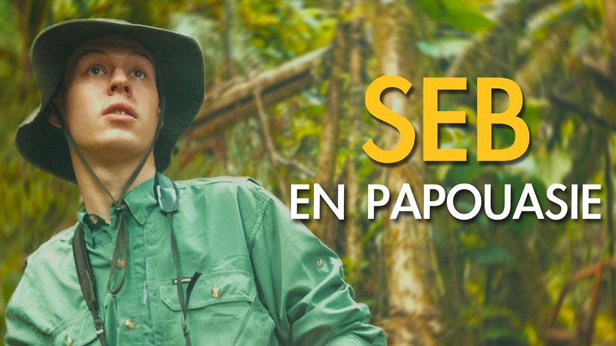 Affiche du documentaire SEB en Papouasie