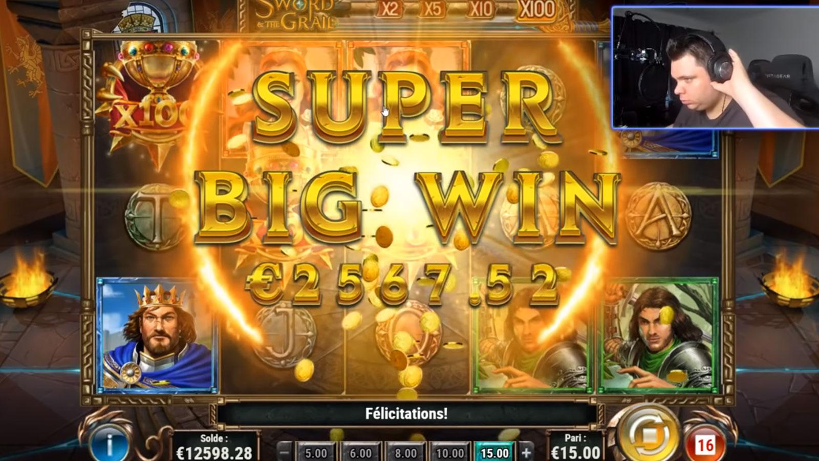 TeufeurS a gagné par mal d'argent grâce aux jeux d'argent en ligne