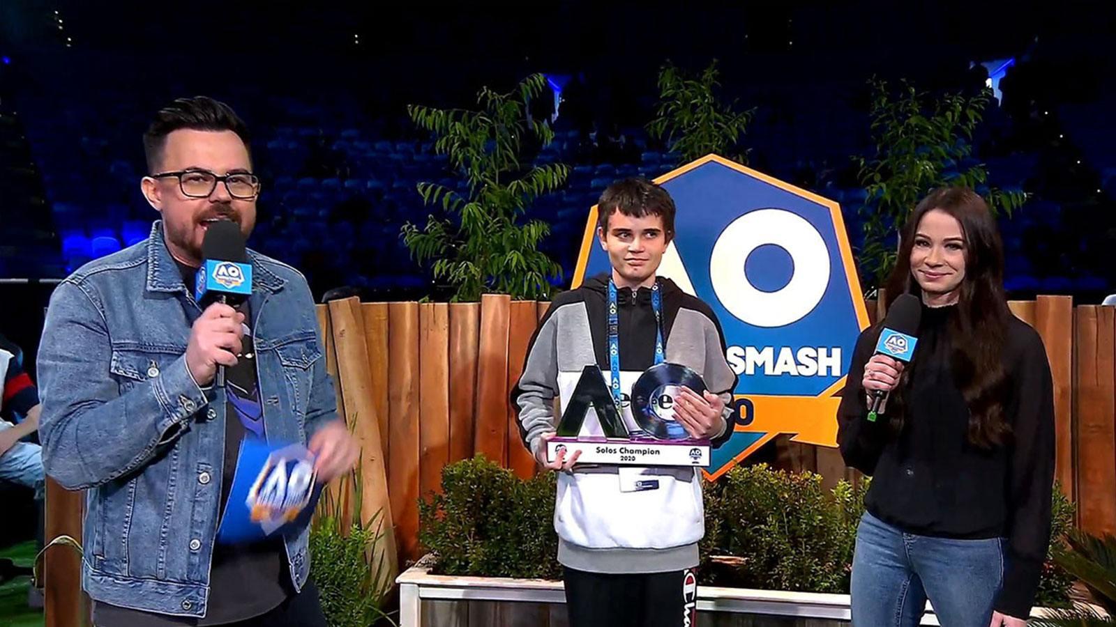 victoire Breso Open d'Australie Summer Smash