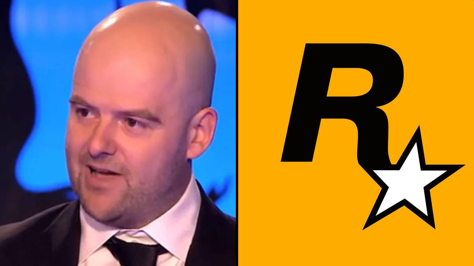 Dan Houser logo Rockstar Games
