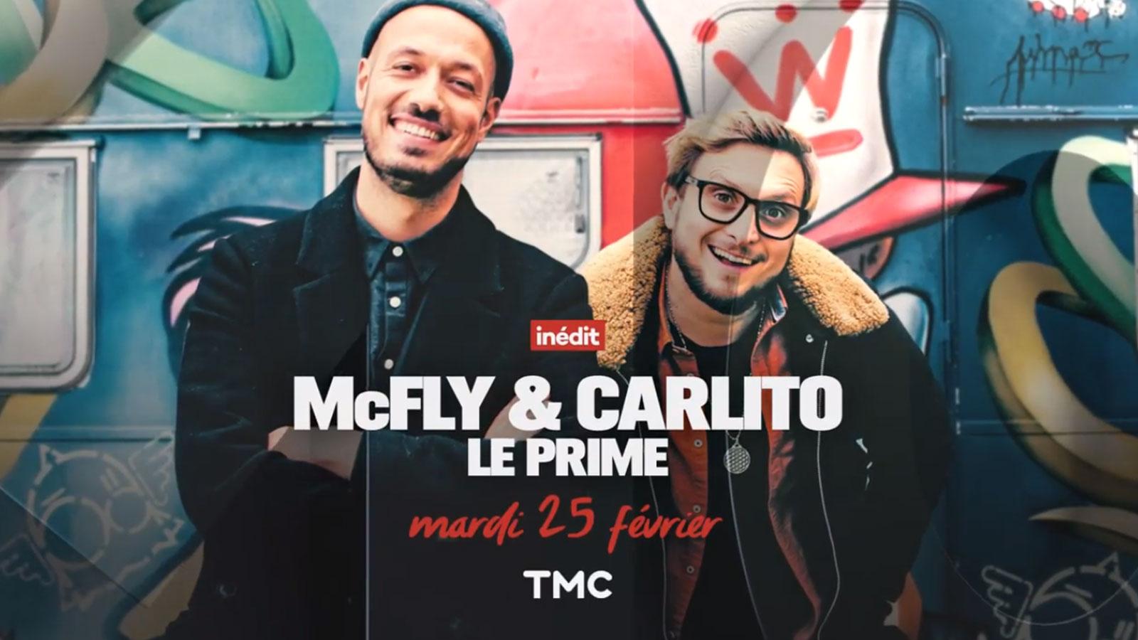 McFly et Carlito seront en prime sur TMC