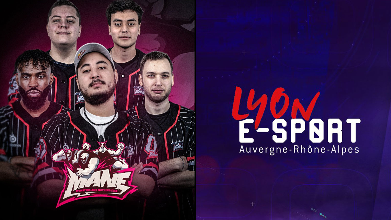 Les MANE disputeront el tournoi League of Legends de la Lyon e-Sport