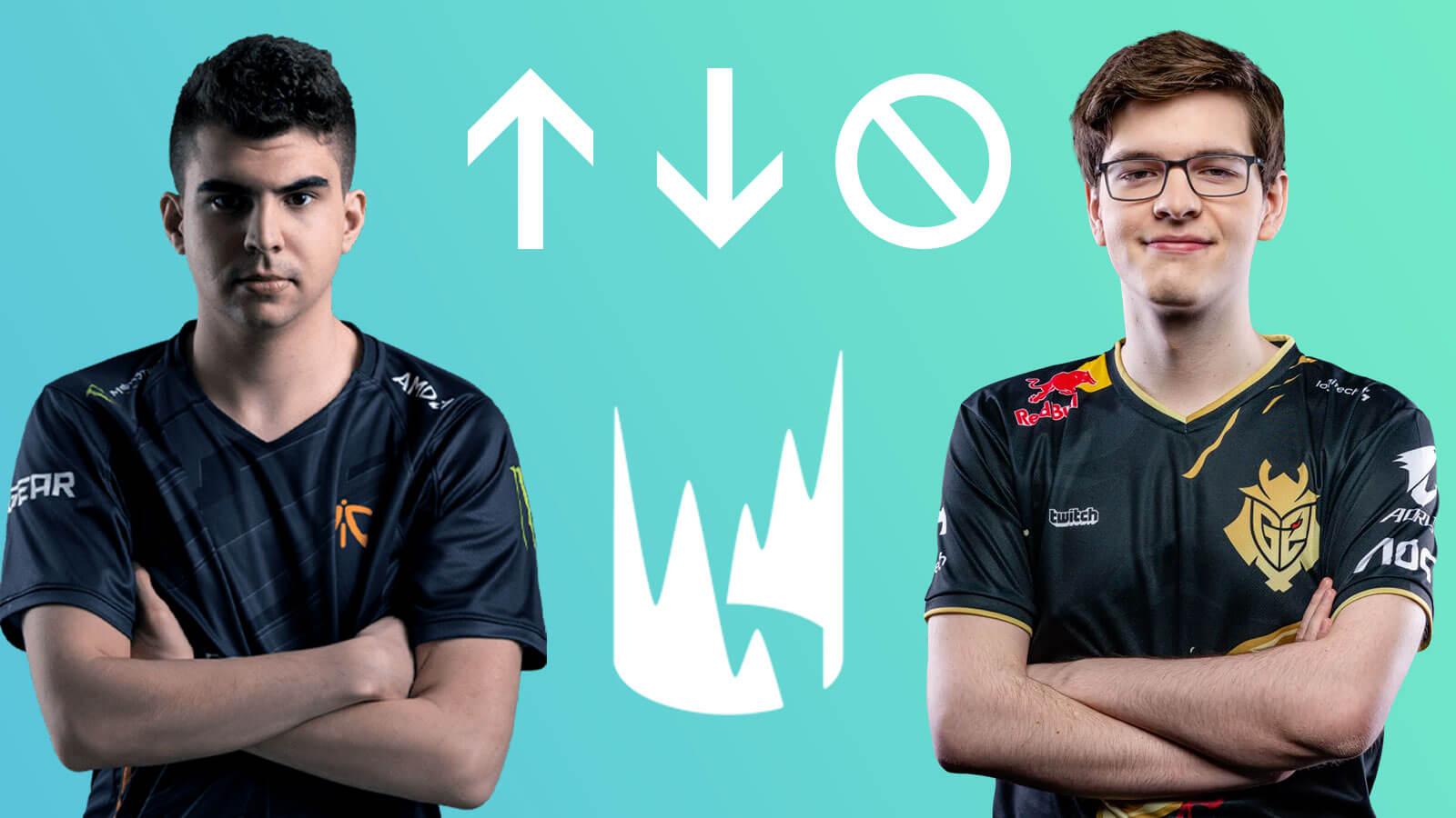 Bwipo et Mikyx, joueurs pro de LoL