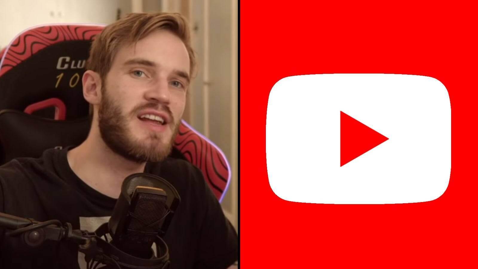 Le youtubeur suédois PewDiePie