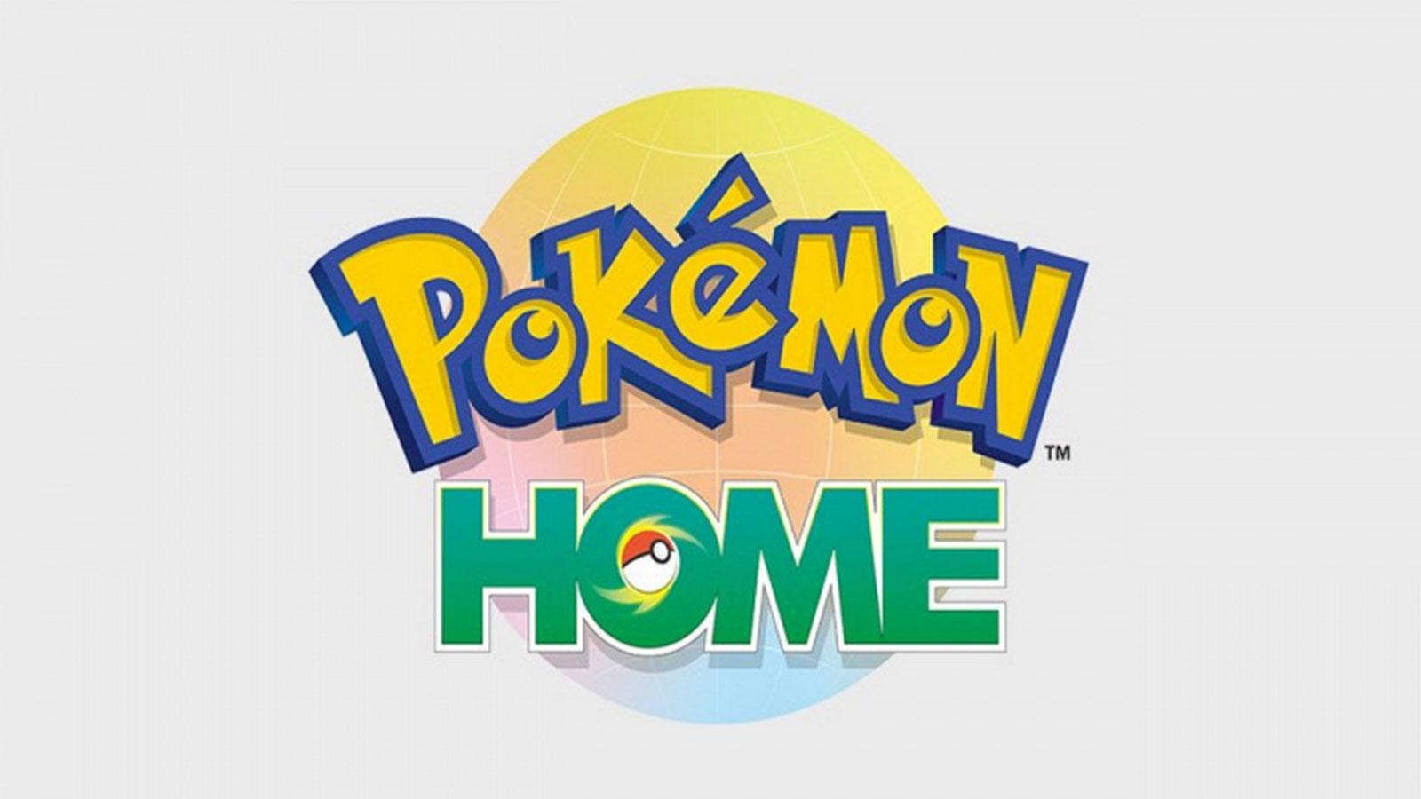 l'application Pokémon Home est désormais disponible sur Switch, iOS et Android