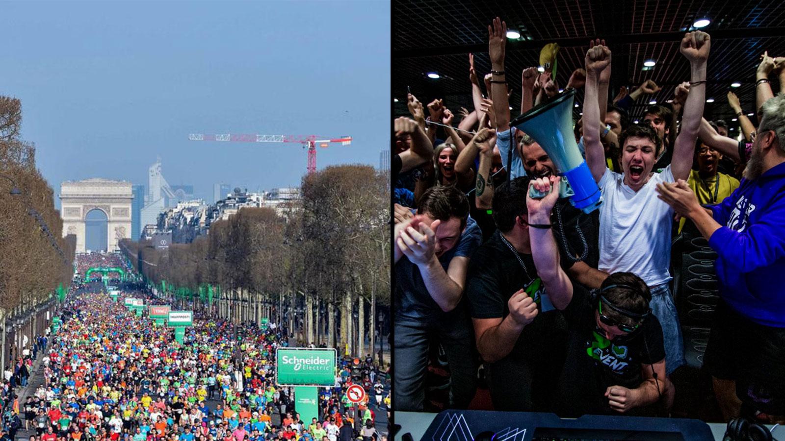 Les préparatifs pour le Marathon de Paris ont démarré depuis plusieurs semaines