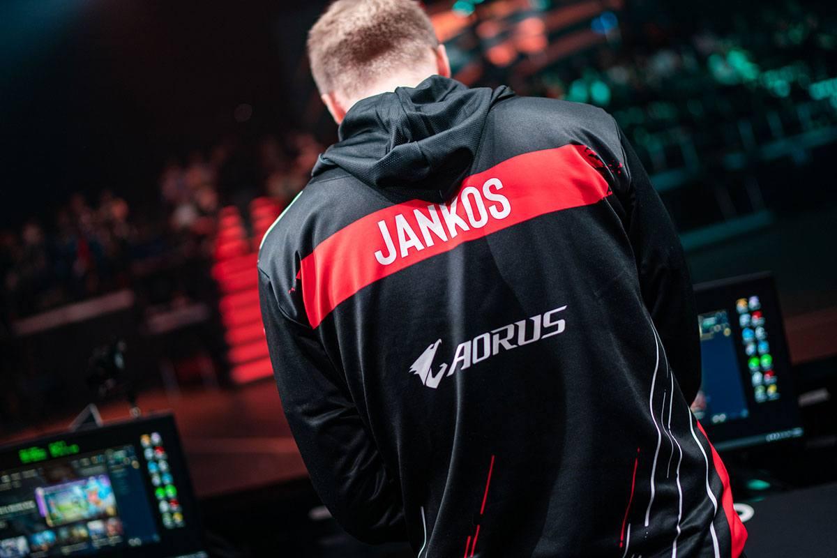 Jankos de dos dans les studios LEC