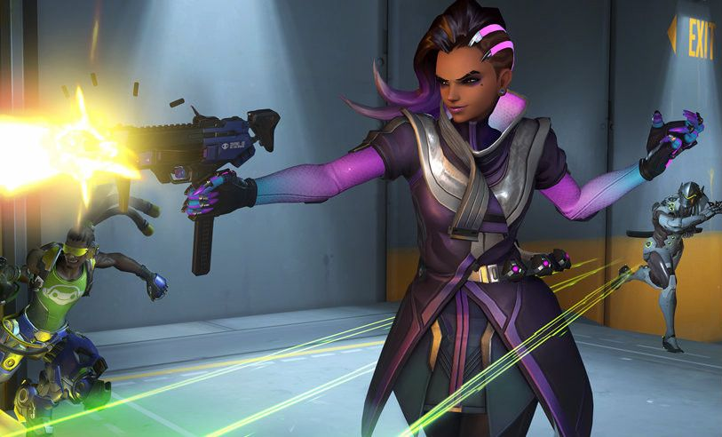 Overwatch Sombra hack Blizzard