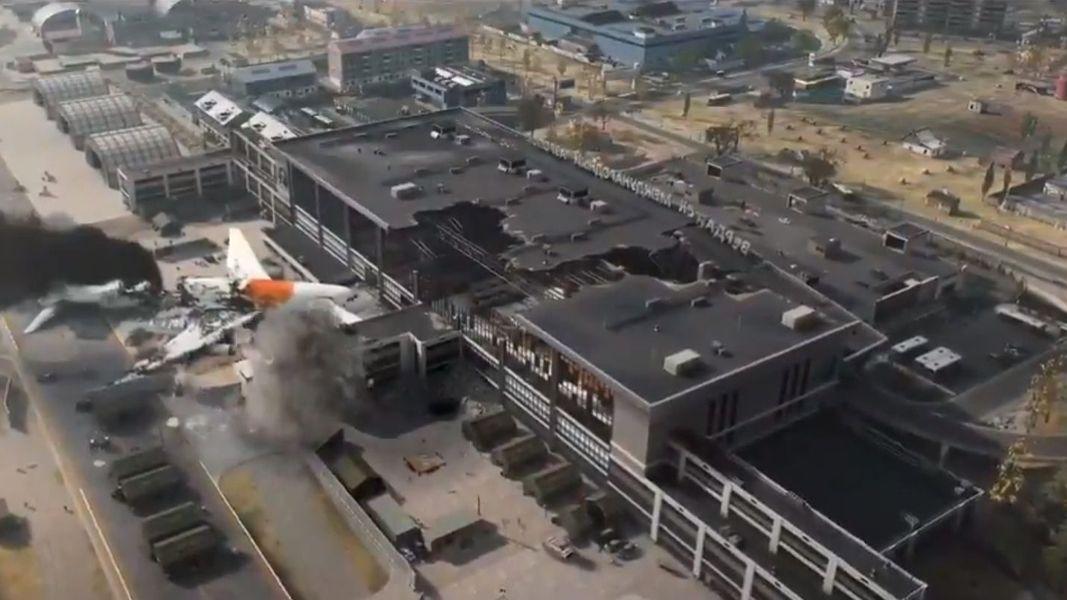 Modern Warfare Activision Infinity Ward Terminal