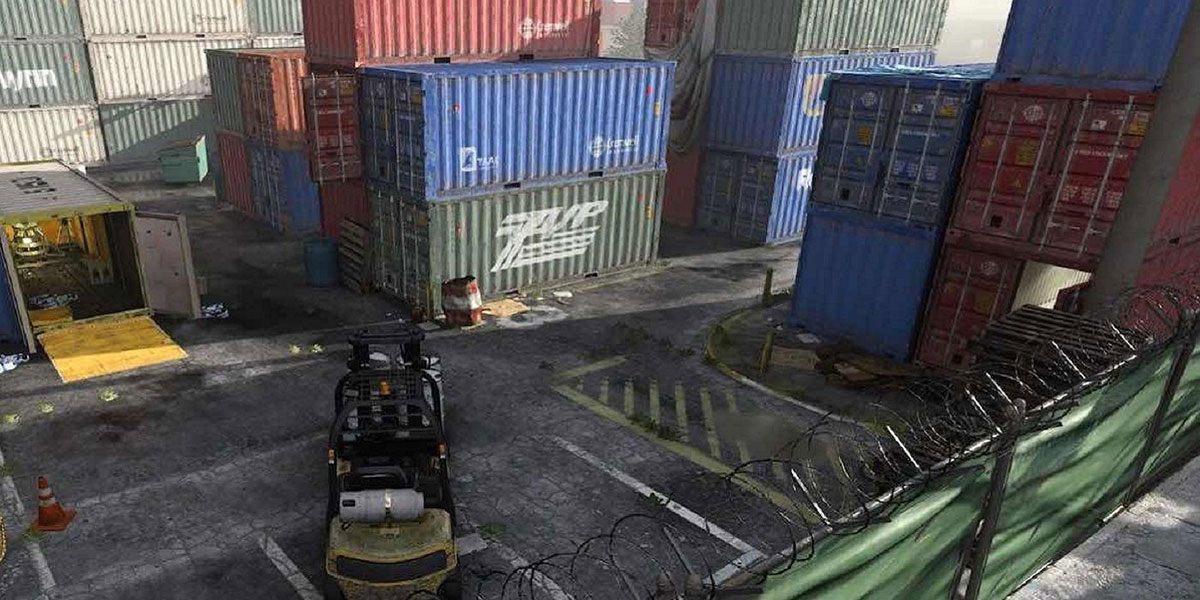 La map Shipment sur Modern Warfare