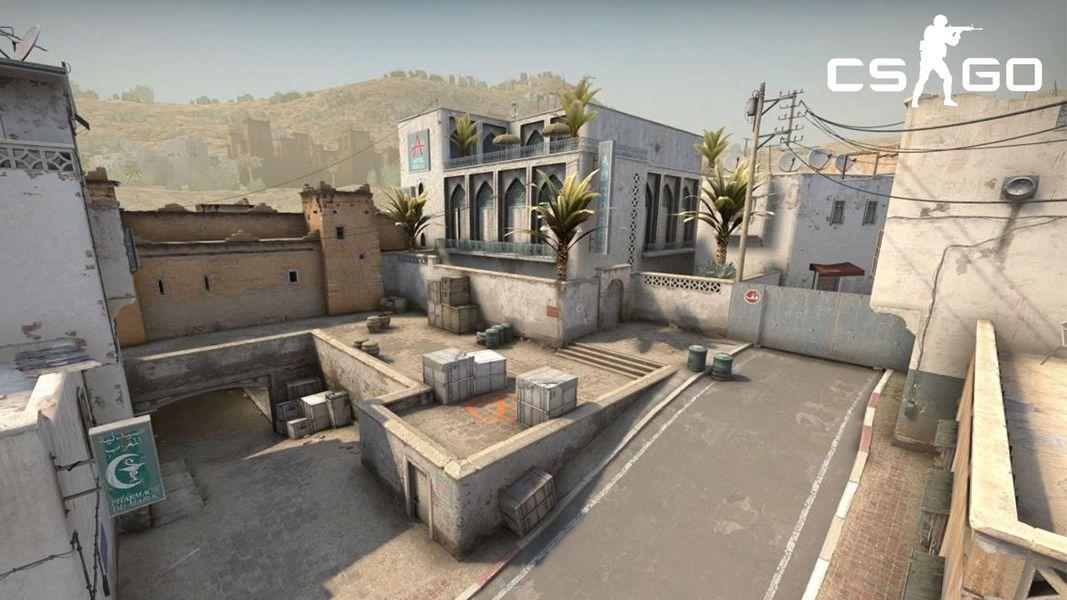 La Dust 2 est une carte emblématique de CS:GO