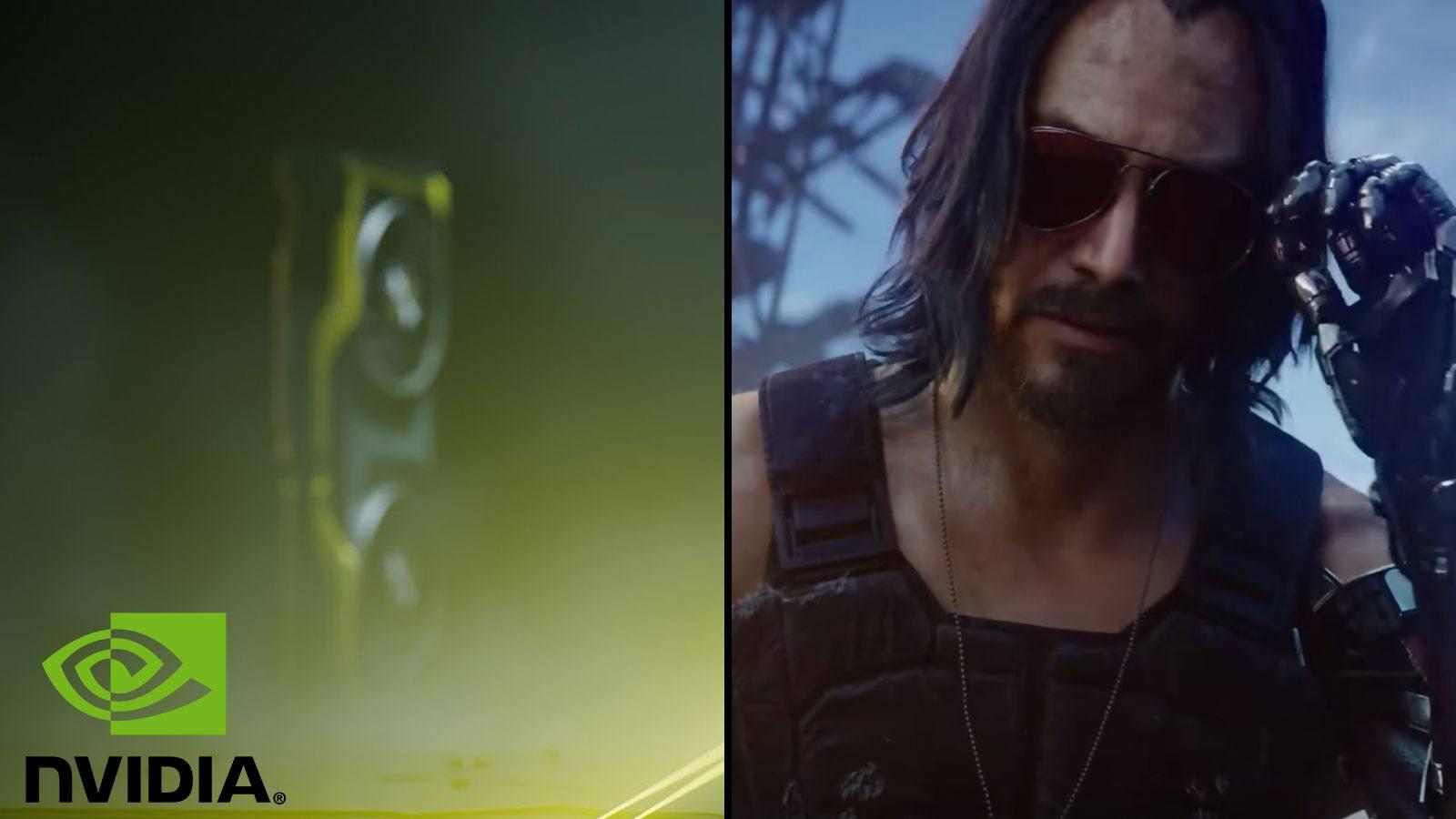 NVIDIA teasing GPU | Keanu Reeves CD Pojekt RED