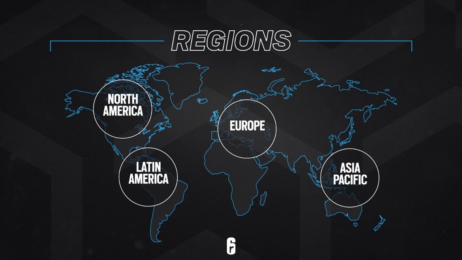 R6 Siege programme e-sport monde