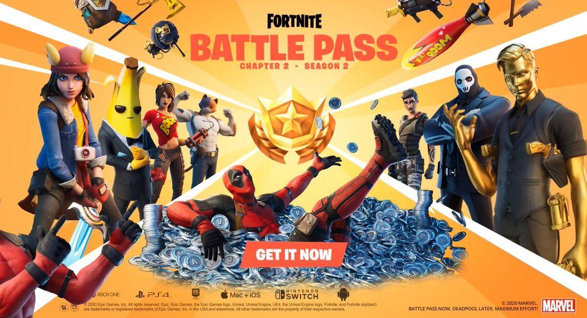 Fortnite Chapitre 2 Battle Pass Epic Games