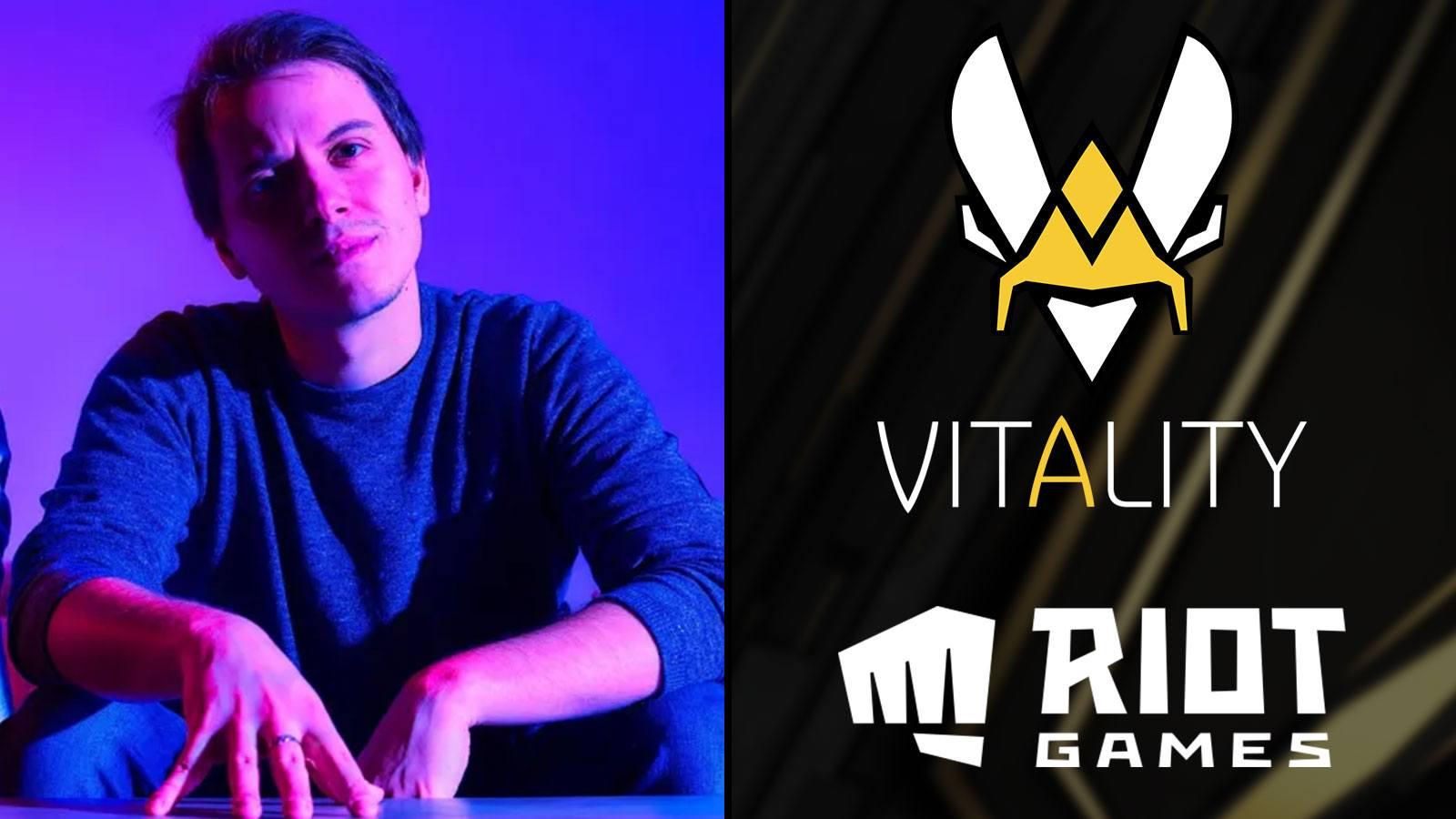 Neo, fondateur et directeur de Team Vitality